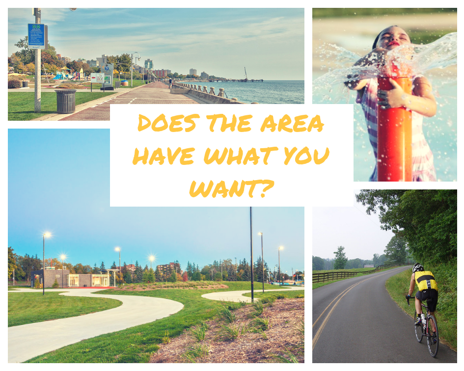 Does the Area Have What You Want?