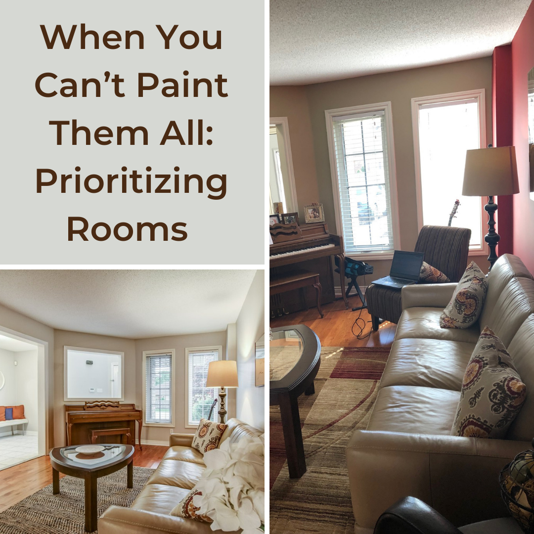 When You Can't Paint Them All: Prioritizing Rooms