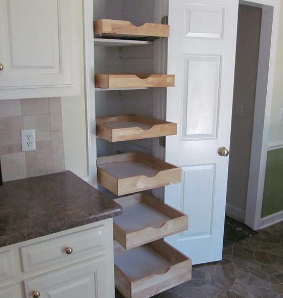 Creating a pantry when you don't have one!